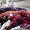 Hand Spun, Hand Painted Yarns