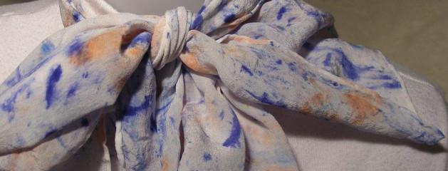 8×54 Silk Crepe Scarf