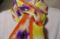 Silk Crepe de Chine 15×60 Scarf