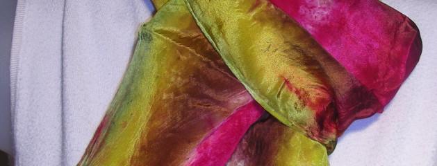Silk habotai 8×54