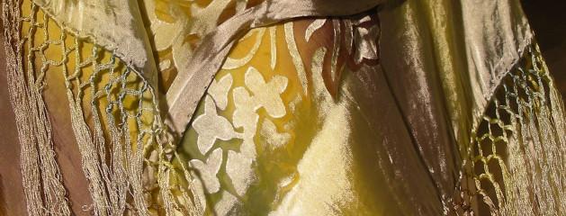 Devore Satin on Silk 18×72