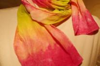 Silk Crepe Scarf 8×54
