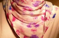 Silk Crepe 25×25 Scarf